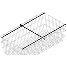 Mail Room and Office Supplies File Folder Rods for our Medium Wire File Mail Basket (File Rods only)