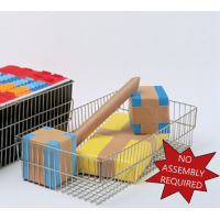 Mail Room and Office Supplies Wire Parcel Basket
