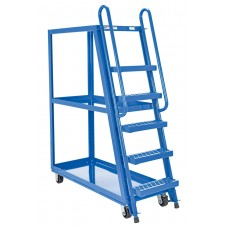 "Steel Tall Ladder Stock Picker Truck  50-3/4""L x 21-1/2""W"