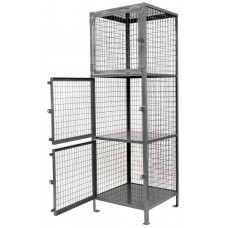 "Three Shelf Storage Locker 75""H x 36""W x 36""D - FREE Shipping!"