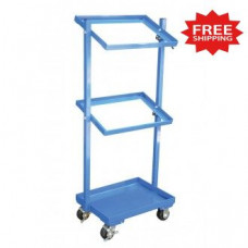 "Multi Tier Stock Cart with Adjustable Angle Height , 30-11/16""W x 19-1/16""D (Bins Sold Separately) - FREE Shipping!"