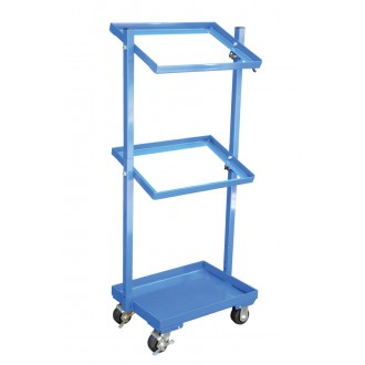 """Multi Tier Stock Cart with Adjustable Angle Height , 30-11/16""""W x 19-1/16""""D (Bins Sold Separately) - FREE Shipping!"""