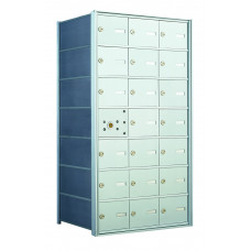 21 A-size Door Horizontal Mailbox Unit - Front Loading - 140073A