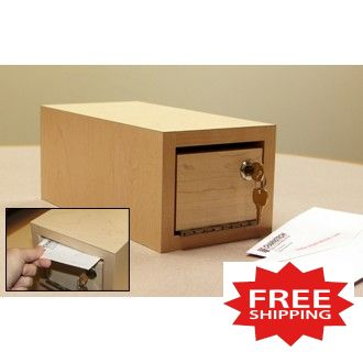 """""""Close Out Special"""" Small Envelope Drop Box (Only One Left!) - FREE SHIPPING!"""