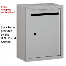 "USPS Aluminum Surface Mounted Letter Box 15""W x 19""H x 7.5""D - FREE SHIPPING!"