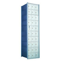 Custom 30 Door Horizontal Mailbox Unit - Front Loading - (29 Useable; 10 High) - 1600103-SP