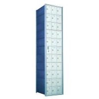 Custom 33 Door Horizontal Mailbox Unit - Front Loading - (32 Useable; 11 High) - 1600113-SP