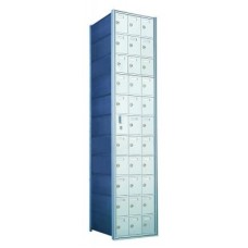 Standard 33 Door Horizontal Mailbox Unit - Front Loading - (32 Useable; 11 High) - 1600113A