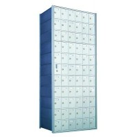 Custom 66 Door Horizontal Mailbox Unit - Front Loading - (65 Useable; 11 High) 1600116-SP