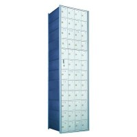 Standard 48 Door Horizontal Mailbox Unit - Front Loading - (47 Useable; 12 High) 1600124A