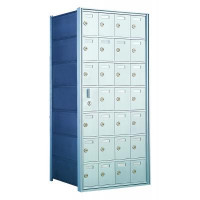 Custom 28 Door Horizontal Mailbox Unit - Front Loading - (27 Useable; 7 High) 160074-SP