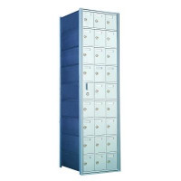 Standard 27 Door Horizontal Mailbox Unit - Front Loading - (26 Useable; 8 High) - 160093A