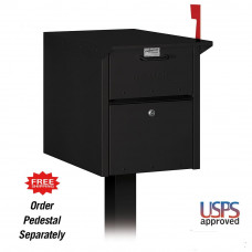 Front and Rear Access Mailbox - USPS Approved - Post Sold Separately - FREE SHIPPING!