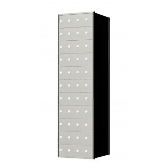 Standard 44 Door 11 High Horizontal Mailbox Unit - Rear Loading - 1700114A