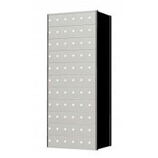 Standard 66 Door 11 High Horizontal Mailbox Unit - Rear Loading - 1700116A