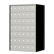 Standard 42 Door 7 High Horizontal Mailbox Unit - Rear Loading - 170076A