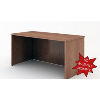 """Office And Mail Room Furniture - 63""""W Standard Wood Desk."""