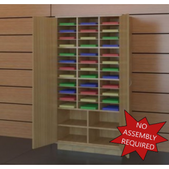 """37-1/2"""" W Attractive Wooden Locking Storage Cabinet"""