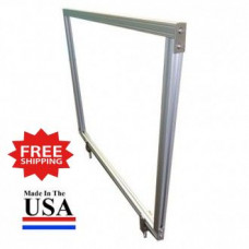 "Attachable Desktop Protection Screen 24""H x 59""W for Safe Physical Distancing - FREE SHIPPING!!"