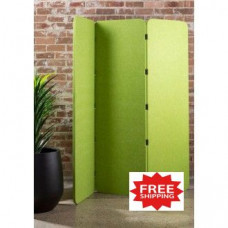 "Free Standing Social Distancing Acoustic Panel 70""H x 70""W - FREE SHIPPING!"