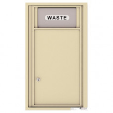 Trash/Recycling Bin - 4C Wall Mount 8-High - H4C08S-BIN
