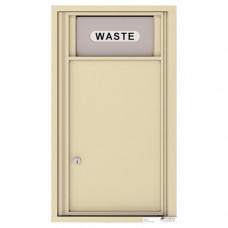 Trash/Recycling Bin - 4C Wall Mount 9-High - 4C09S-BIN