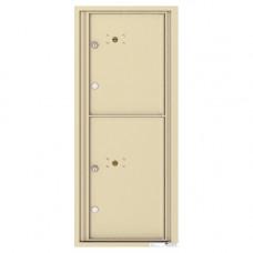 2 Parcel Doors Unit - 4C Wall Mount 11-High - 4C11S-2P