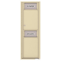 Trash/Recycling Bin - 4C Wall Mount 14-High - 4C14S-BIN