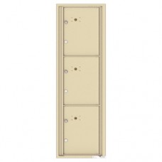 3 Parcel Doors Unit - 4C Wall Mount 15-High - 4C15S-3P