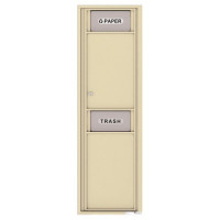 Trash/Recycling Bin - 4C Wall Mount 15-High - 4C15S-BIN