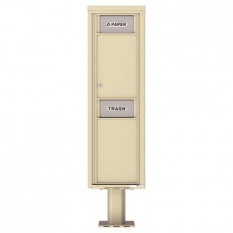 Trash / Recycling Bin (Pedestal Included) - 4C Pedestal Mount Max Height - 4C16S-BIN-P