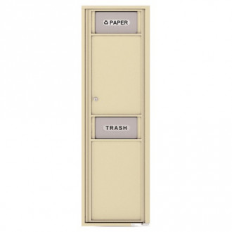 Trash/Recycling Bin - 4C Wall Mount Max Height - 4C16S-BIN