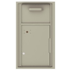 """Commercial or Residential Mailboxes-Front Loading Mailbox, Collection / Drop Box with pull down hopper for mail collection, 30-1/4"""""""