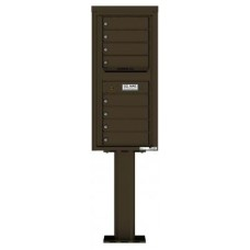 Mail Box Front Loading Commercial or Residential, 4C Mailbox w/8 tenant compartments
