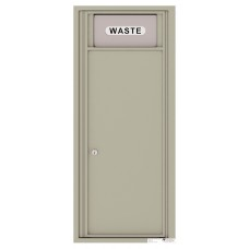 Mailboxes Commercial or Residential Front Loading, Trash / Recycling Bin with (1) collection area, 44-1/4""