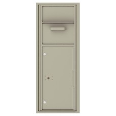 Mailboxes Commercial or Residential Front Loading, Collection / Drop Box with pull down hopper, 44-1/4""