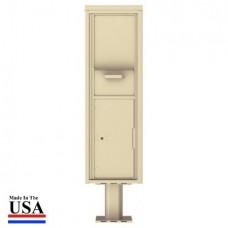 Collection/Drop Box Unit - 4C Pedestal Mount 15-High (Pedestal Included) - 4C15S-HOP-P
