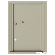 """Commercial and Residential Mailboxes-Front Loading Mailbox, 4C Mailbox w/1 Parcel Locker, 23-1/4"""""""