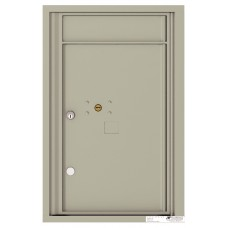 """Commercial and Residential Mailboxes-Front Loading Mailbox, 4C Mailbox w/1 Parcel Locker  , 26-3/4"""""""