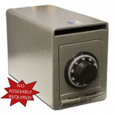 Steel Wall Mount Drop Safe with Combination Lock