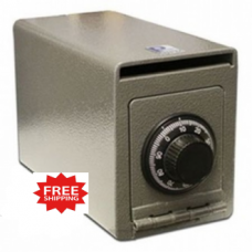 Steel Wall Mount Drop Safe with Combination Lock - FREE SHIPPING!