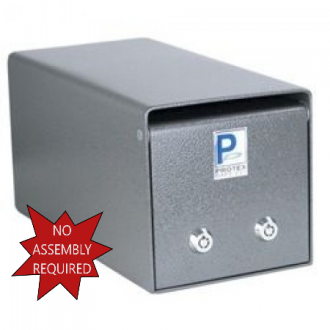 Under The Counter Steel Drop Safe with Dual Keys