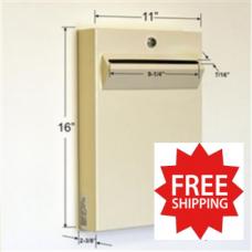 Low Profile Steel Wall Mount Drop Box - FREE SHIPPING!