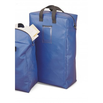"Mail Room Supplies - 22""H x 14-1/2""W Bulk Mail Security Bank Bag - Medium"