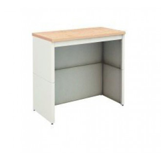 "Mail Room Table 36""W x 30""D Extra Deep Open Storage Adjustable Height Table with Lower Shelf"