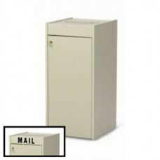 Mail Room and Office Products Wood Laminate Single Top Slot Drop Box