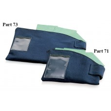 "12""H to 8-1/2""H x 15-1/2""L Security Courier Pouch - Close-out, While Supplies Last!!"