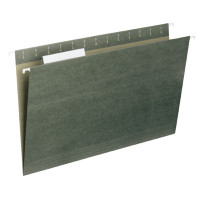 File Folder Legal Size Green Kraft Folder - Carton of 25