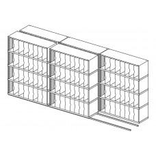 High Density Sorters and Storage 160 Vertical Pockets