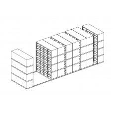 High Density Storage and Sorters 512 - Adjustable Pockets